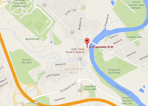 Map to Limestone Counselling, Coaching and Consulting office